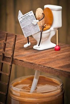 How peanut butter is made. I figured this was how