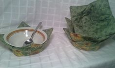 Microwave Bowl Cozy / Pot Holder by JennifersGemz on Etsy, $6.99