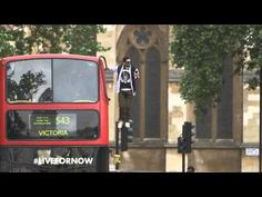 """Pepsi Max & Dynamo present: """"Bus Levitation"""" #LiveForNow  A cool stunt by an English magician, Dynamo for Pepsi Max, taking the traditional double-decker London sightseeing to a whole new level!"""