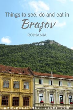 20 things to do in Brașov, Romania City Break Holidays, Brasov Romania, Transylvania Romania, Visit Romania, Mall Of America, North America, Romania Travel, European Travel, Travel Europe
