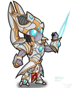 Bilderesultat for starcraft 2 artanis clipart