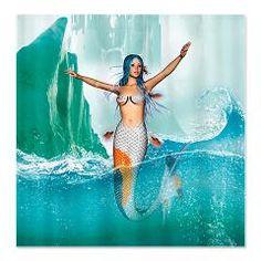 Mermaid Shower Curtain > Mermaid > Your Fantasy World
