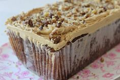 Primrose Bakery's recipe for Coffee & Walnut Loaf