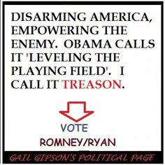 Weakening America's defense and economy! We are Ripe for the Picking! Vote Romney-Ryan 2012