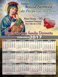 Calendário Nossa Senhora do Perpétuo Socorro 2017