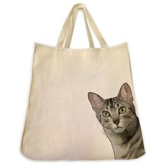 Egyptian Mau Cat Tote Bag