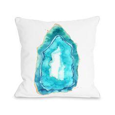 One Bella Casa Petite Formations Fleece Throw Pillow