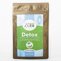 Best seller Zobi Detox Tea 2 weeks supply 14 tea bags Body Cleansing Metabolism Boosting Promote Slimming Reduce Bloating Relieve Constipation Increase Energy Cleanse