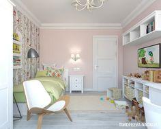 Детская комната для девочки! - Дизайн интерьера - Babyblog.ru