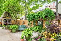 A homeowner with a magpie's eye and a restless imagination turns his own little slice of Buffalo, New York, into a space brimming with ideas Garden Beds, Garden Art, Garden Design, House Design, Garden Houses, Patio Design, Small Cottage Garden Ideas, Backyard Cottage, Window Planter Boxes