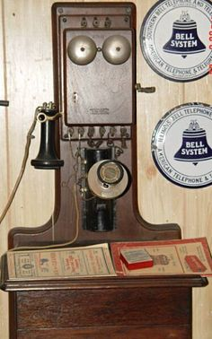 Western Electric Receiver ...note the Southern Bell Logo on top right !
