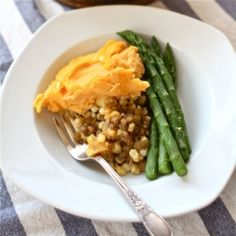 Lentil Shepherd's Pie with Sweet Potato Mash and my Top 5 Frugal Meals.