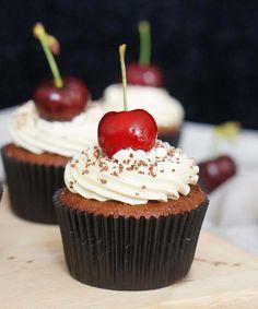 bosvruchten cupcakes