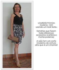 50 VEZES LINDA: moda para mulheres maduras: Look da Leitora do Blog 50 vezes Linda - Participe...