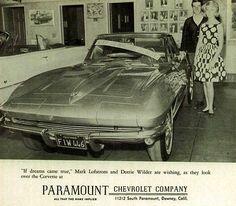 Paramount Chevrolet - 1963 Corvette