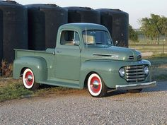 1949 Ford. Real cool truck - would love this in RED or right perfect shade of Blue...
