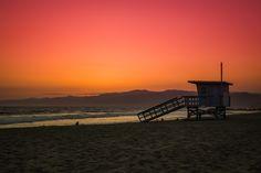 Blood Orange Sky over Los Angeles by Radu Micu on 500px