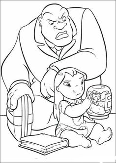 Lilo and a big man coloring page. There are many free Lilo and a big man coloring page in Lilo and Stitch coloring pages. Are you looking for Lilo and . Mermaid Coloring Pages, Disney Coloring Pages, Mandala Coloring Pages, Christmas Coloring Pages, Colouring Pages, Adult Coloring Pages, Coloring Pages For Kids, Coloring Books, Lilo Y Stitch Dibujo