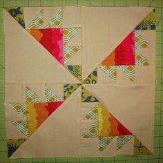 """I Sew Free: Free Quilt Pattern: Kansas Troubles Block Frome Craftsy free download pattern. 12"""" finished sized. The eighth block in our Quilter's Choice QAL is Kansas Troubles."""