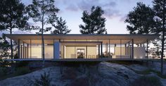 JOARC I ARCHITECTS • Holiday Villas • Villa Åskviken