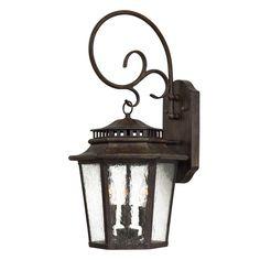 Wickford Bay 3 Light Wall Lantern