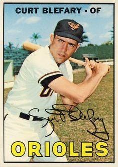 180 Curt Blefary 1967 Topps