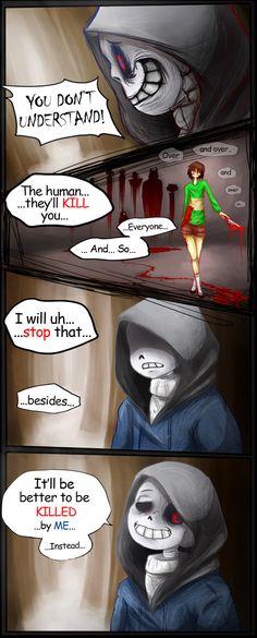 Dusttale comic part 3
