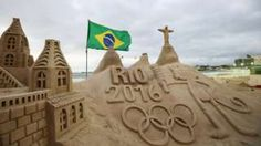 Image copyright                  Allsport/Getty Images Image caption                                      Sea, sand and sculpture: Rio 2016 is making the most of the city's selling points                                It's that time again. Four years since London 2012, it's Rio 2016. Put everything to one side for a few weeks. This is the time to briefly start taking an interest in often random sports that might otherwise pass