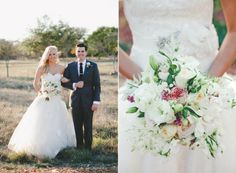 October Wedding at the Wildflower Center | Lady Bird Johnson Wildflower Center | The Nichols Photography