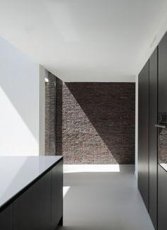 Kitchen - Residence VHVH in Bazel Belgium by Claessens Architecten - photographer Koen Van Damme