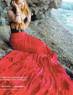 red tail Sea Siren, Tie Dye Skirt, Cosplay, Skirts, Red, Fashion, Moda, Fashion Styles, Awesome Cosplay