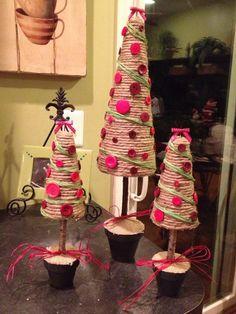 Summer Old Summer New Designs: Homemade Christmas Tree Craft