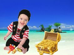ARRRRR! For a golden photo opportunity session this summer, check out our Baby Buccaneer!