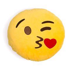 Emoji Pillow 😘