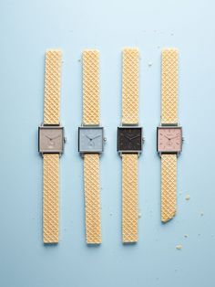 """NOMOS (handmade watches), Germany, """"Styling by Sarah Illenberger"""", pinned by Ton van der Veer"""