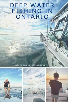 There's great deep sea fishing near Toronto at Port Whitby Marina. You can head out on a Ontario fishing charter and even do some salmon fishing in Ontario. I actually caught a 17 pound salmon out on Lake Ontario! Ontario Travel, Toronto Travel, Travel Guides, Travel Tips, Travel Destinations, Alberta Canada, America And Canada, North America, Vancouver