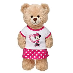 Disney Minnie Mouse Skirt Outfit 2 pc. | Build-A-Bear