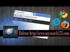 Como deletar http://www.mysearch123.com (pagina inicial) ~ canalforadoaroficial