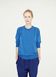 Pretty blue colour combo Emma Balfour for dion lee