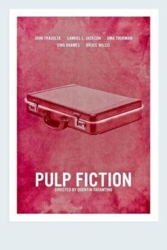 PULP FICTION | Minimalist movie posters
