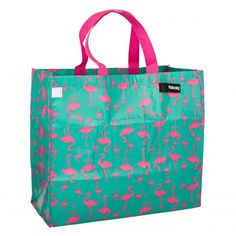 Flamingo shopping bag I want one of these asap Flamingo Beach, Flamingo Decor, Flamingo Party, Pink Flamingos, Pink Love, Pretty In Pink, Pink Bird, Everything Pink, Pretty Birds