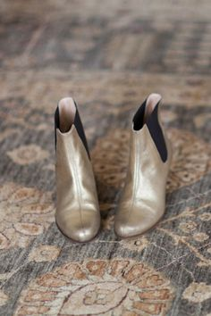 New Emerson Fry: Gold Lennon Boot