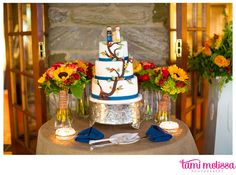 Love this whimsical tree cake  | Tami Melissa Photography