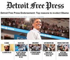 Detroit KNOWS they're better off today than they were four years ago! And I am too!