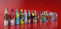 Coca-Cola Releases Special Edition World Cup 2014 Mini Bottles via @The Dieline