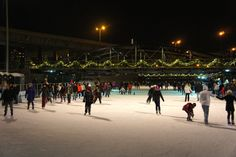 Winter Date Idea: Ice skating. It's all very romantic.