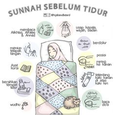 Sunnah sebelum tidu r