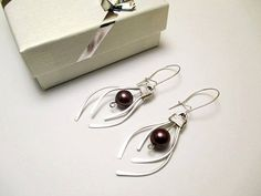Silver Earrings sterling silver silver 925 gift by PetyaJewelry