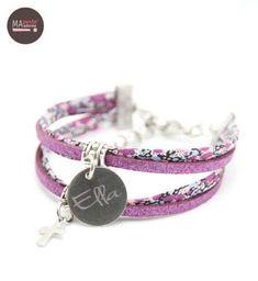 Bracelet magn/étique Fermeture Automatique Couleur Violet Accessoire Couture Porte /épingles Couture