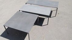 Boiacca table Design by LucidiPevere concrete based furniture